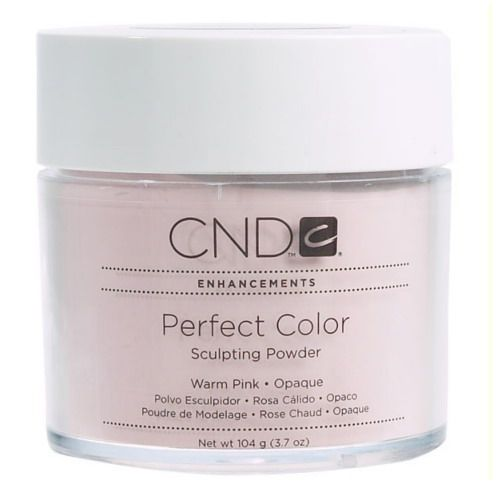 CND PERFECT COLOR SCULPTING POWDER - WARM PINK 104 G