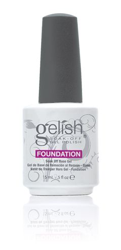 GELISH FOUNDATION SOAK OFF GEL BASE COAT 15ML