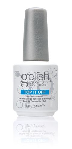 GELISH TOP IT OFF SOAK OFF GEL TOP COAT 15ML