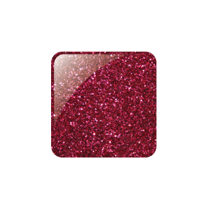 GLAM AND GLITS GLITTER ACRYLIC COLOUR POWDER - 22 BURGUNDY RED