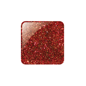 GLAM AND GLITS GLITTER ACRYLIC COLOUR POWDER - 41 HOLIDAY RED