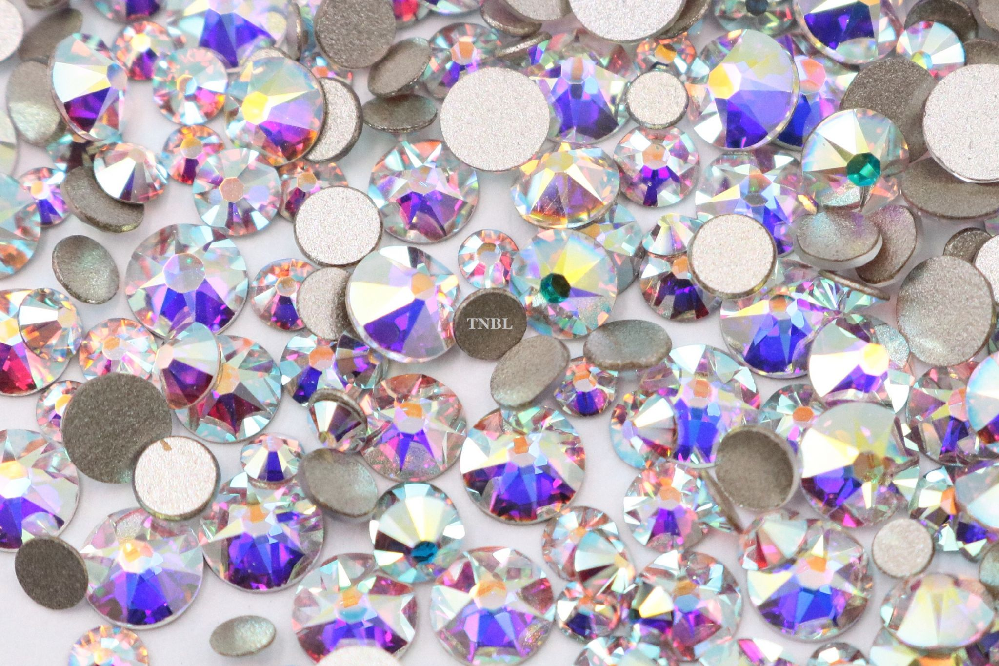 8e910888d Swarovski Crystals Aurore Boreale 001 AB Rhinestone Gems Article 2058 -  Mixed Pack 200pcs