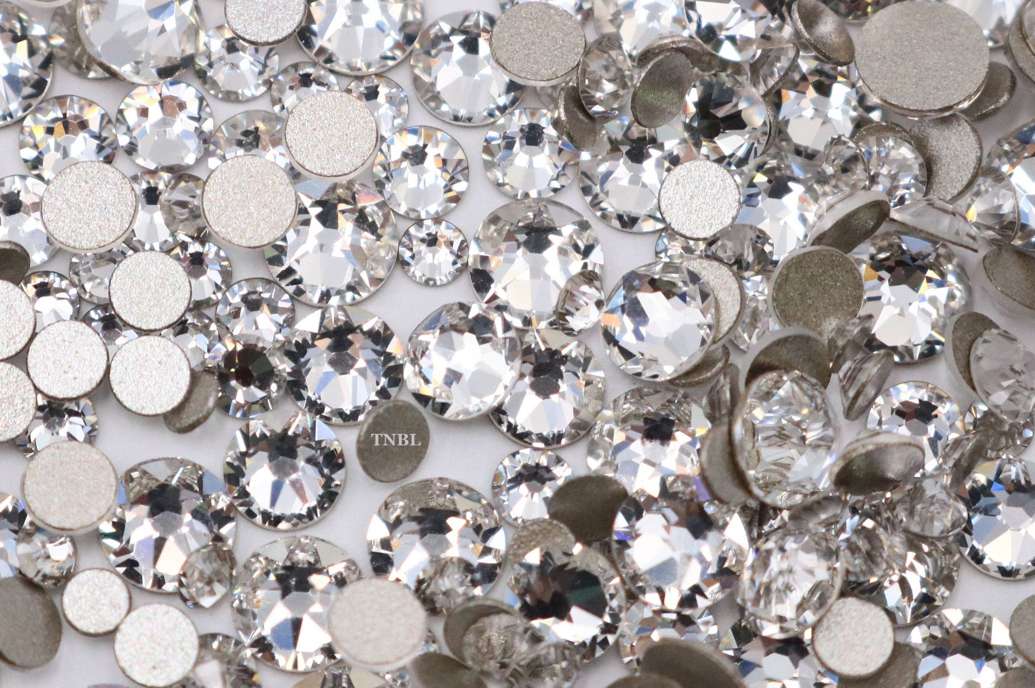 5ca08d1f6f40aa Swarovski Crystals Clear 001 Rhinestone Gems Article 2058 - Mixed Pack  400pcs